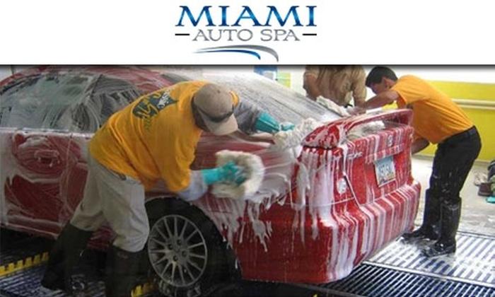 Miami Auto Spa - Miami: $6 for One Luxury Exterior Hand Car Wash at Miami Auto Spa (Up to $17 Value)