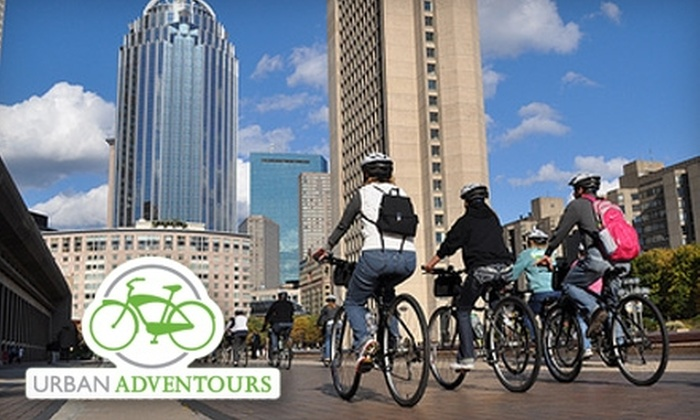 Urban AdvenTours - Multiple Locations: Bike Tune-Up, City View Bicycle Tour, or Hybrid Bike Rental at Urban AdvenTours