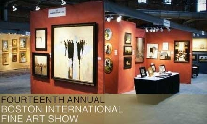 Boston International Fine Art Show - Back Bay: $15 for Two Admission Tickets to the Boston International Fine Art Show, November 19–21 ($30 Value)