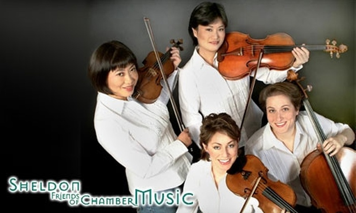 Sheldon Friends of Chamber Music - Lincoln: $17 for a Ticket to a Sheldon Friends of Chamber Music Performance (Up to $35 Value). Choose from Three Shows.