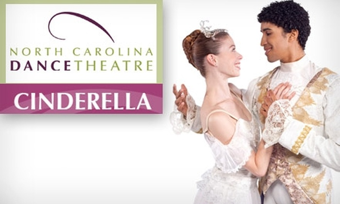 "North Carolina Dance Theatre - Second Ward: $30 for One Orchestra Seat to ""Cinderella"" at the Knight Theater ($60 Value). Buy Here for Thursday, March 11, at 7:30 p.m. See Below for an Additional Performance."