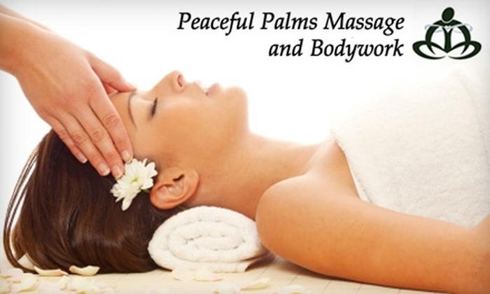 Peaceful Palms Massage and Bodywork - Vandalia: $30 for a One-Hour Swedish Massage at Peaceful Palms Massage and Bodywork ($60 Value)