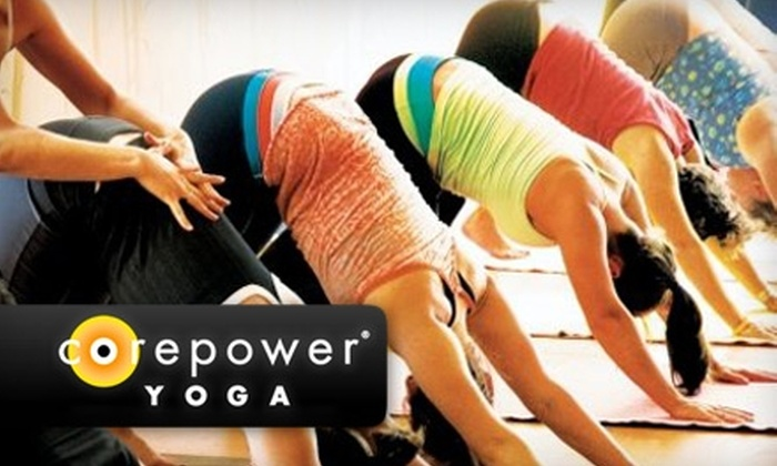 CorePower Yoga - Multiple Locations: $59 for One Month of Unlimited Classes (Plus Additional First Week of Classes Free) at CorePower Yoga (Up to $159 Value)