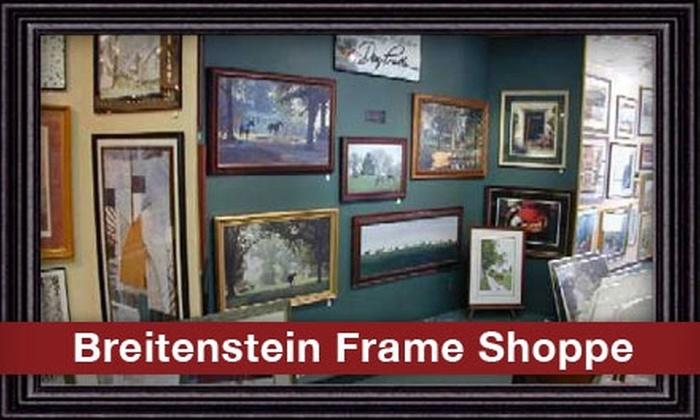 Breitenstein Frame Shoppe - East Louisville: $30 for $65 Worth of Custom Framing & Gifts at Breitenstein Frame Shoppe
