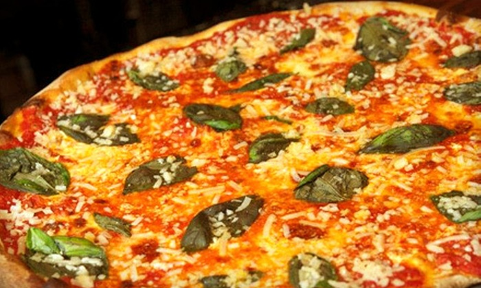Artichoke Basille's Pizza - Chelsea: One Large Pizza With Four Beers at Artichoke Basille's Pizza (Up to 68% Off). Punch-Card Option Also Available.