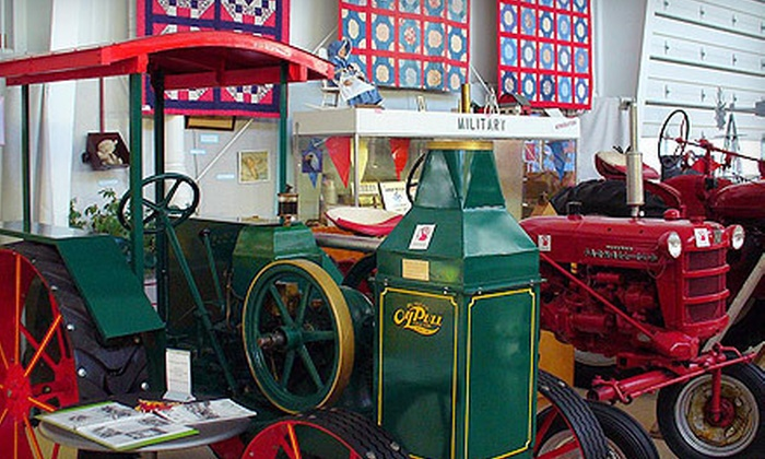 Coopersville Farm Museum and Event Center - Coopersville: $8 for Visit for Four at Coopersville Farm Museum and Event Center (Up to a $16 Value)