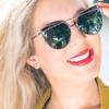 Cat Eye Mirrored Women's Sunglasses