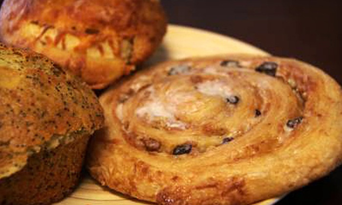 Muffin Mania - Downtown San Rafael: $15 for $30 Worth of Baked Goods, Coffee, and Sandwiches at Muffin Mania in San Rafael