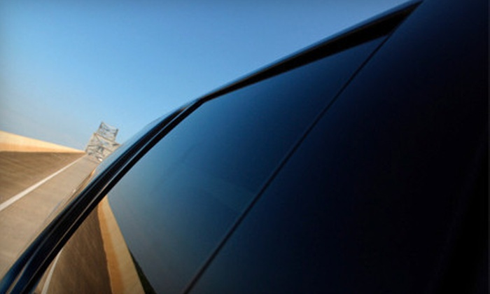 Underground Autosound - Multiple Locations: Window Tinting for Two or All Windows or Paint-Protection Film for Hood and Fenders at Underground Autosound (Up to 60% Off)