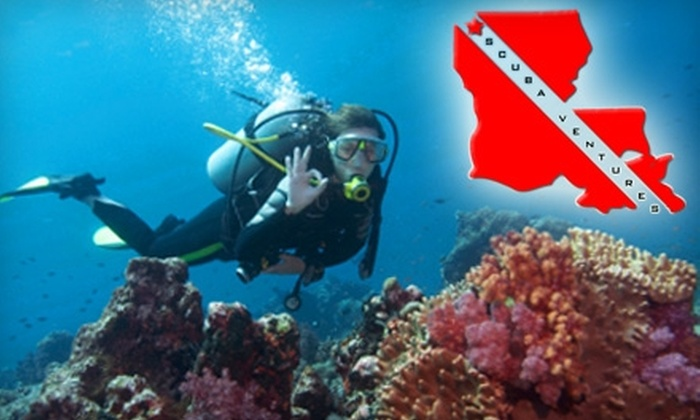 Scuba Ventures - Queensborough: $20 for a Try Scuba Class at Scuba Ventures ($45 Value)