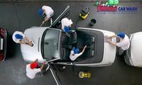 Lavage intérieur et extérieur de votre voiture à 39,90 € valable dans l'un des 29 centres American Car Wash de France