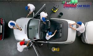 American Car Wash: Lavage intérieur et extérieur de votre voiture à 39,90 € valable dans l'un des 29 centres American Car Wash de France