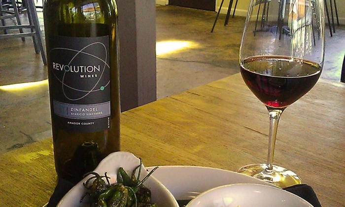 Revolution Wines - Central Sacramento: Wine and Small Plates for Two or Four at Revolution Wines (Up to 51% Off)