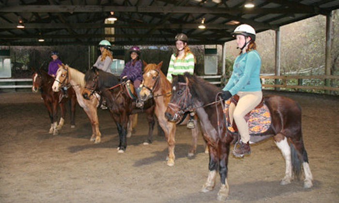 Willow Pond Ranch - Santa Cruz: Four Horse-Riding Lessons or Week-long Spring Horse-Riding Camp at Willow Pond Ranch (Up to Half Off)