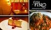 Pizza Fino Italian Restaurant & Bar - Kenton: $12 for $25 Worth of Italian Comfort Food, Hot Pizzas, and More at Pizza Fino