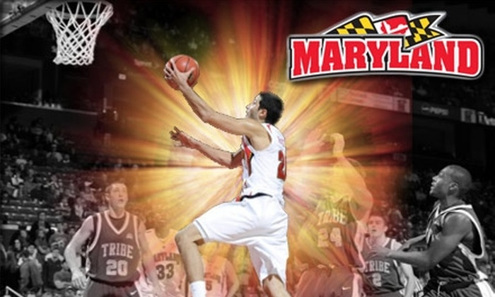 University of Maryland Athletics - Washington DC: $18 for a Ticket to University of Maryland Basketball. Click Here for the Men's Game Vs. Longwood on 1/19/10 at 8 p.m. ($30 Value). See Below for Women's Basketball.