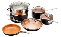 Gotham Steel Non-Stick Titanium Cookware Set 10-Piece Deals