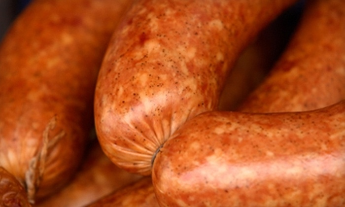 Chris' Specialty Meats - Multiple Locations: $15 for $30 Worth of Cajun Specialty Meats at Chris' Specialty Meats