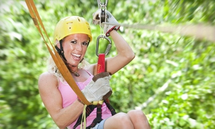 Full Blast Adventure Center - Durango: $72 for Zip-Lining Adventure at Full Blast Adventure Center in Durango (Up to $145 Value)