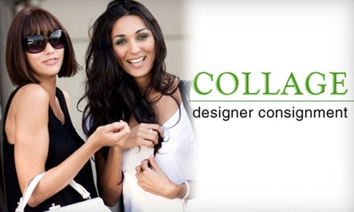 Collage Designer Consignment - Multiple Locations: $24 for $50 Worth of High-End Consignment Clothing and Accessories at Collage Designer Consignment