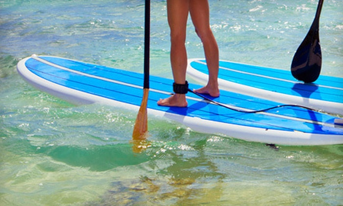 Balboa Water Sports - Balboa Peninsula Point: Two-Hour Standup-Paddleboard Guided Tour or Rental from Balboa Water Sports in Newport Beach (Half Off)