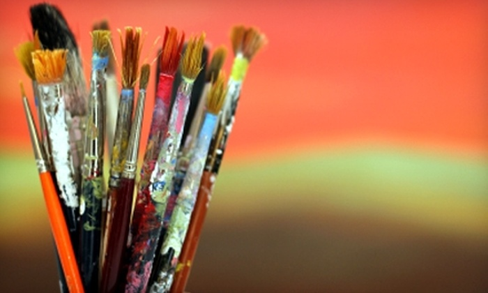 Pathways Through Art - Morrison: $25 for a Ceramics or Painting Workshop at Pathways Through Art in Morrison (Up to $58 Value)