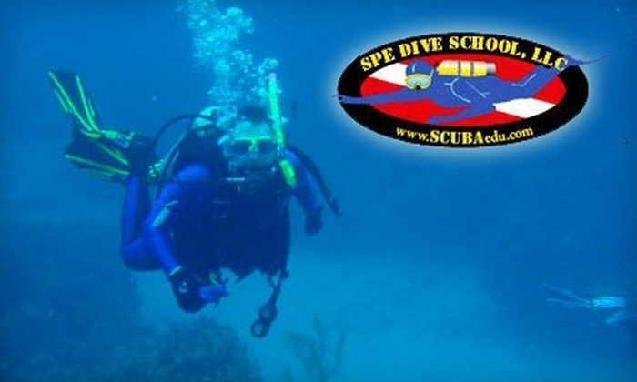 SPE Dive School - 7: $25 for Three-Hour Scuba Experience from SPE Dive School