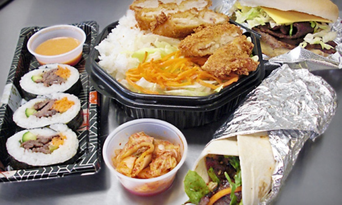 Tiger Pop - Northeast: $7 for $14 Worth of Korean Fusion Fare at Tiger Pop