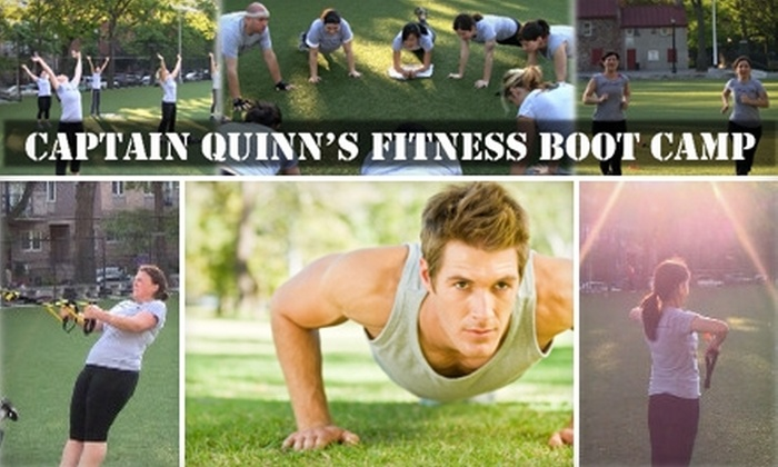 Captain Quinn's Fitness Boot Camp - Multiple Locations: $32 for Eight of Captain Quinn's Fitness Boot Camp Sessions at Quinn Essential Fitness ($80 Value)