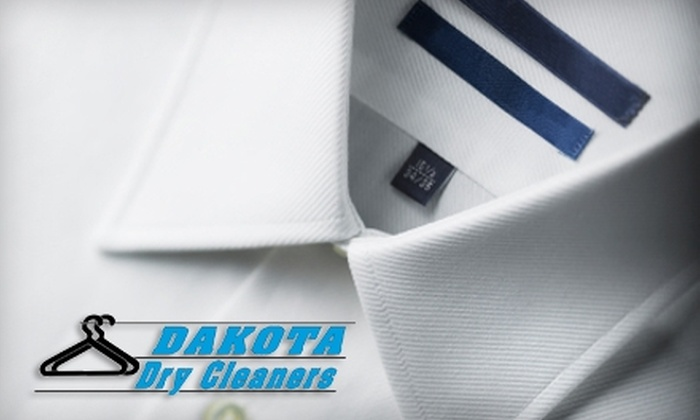 Dakota Dry Cleaners - Multiple Locations: $10 for $20 Worth of Dry-Cleaning Services at Dakota Dry Cleaners
