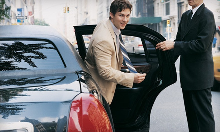 J & J Limousine Service - Chicago: One-Way or Round-Trip Airport Transport from J & J Limousine Service (Up to 62% Off)