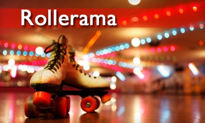 Rollerama - Multiple Locations: $6 for Admission, Roller Skate Rental, Pizza Slice, and a Drink at Rollerama (Up to $13 Value)