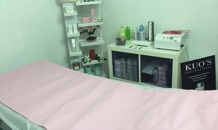 Limpieza facial con opción a varios complementos en Raquel B.R. Estética (hasta 70% de descuento)