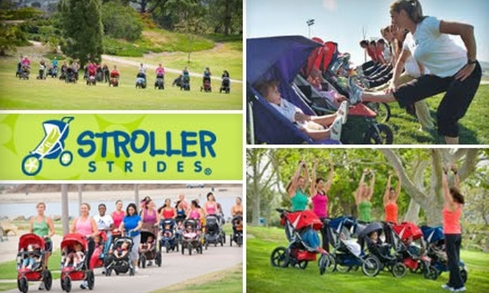 Treasure Valley Stroller Strides - Multiple Locations: $50 for a 10-Fitness-Class Pass at Treasure Valley Stroller Strides ($100 Value)