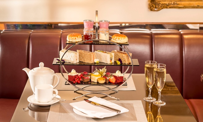 Afternoon Tea at The Library Tea Room in the Millennium Knickerbocker Hotel (Up to 27% Off)