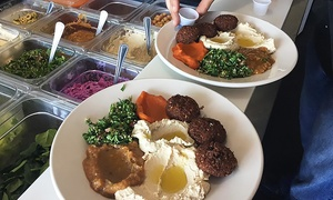 Dash-a-Grill: Mediterranean and American Food at Dash-a-Grill (Up to 50% Off). Five Options Available.