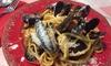 ⏰ Degustazione o cena di pesce