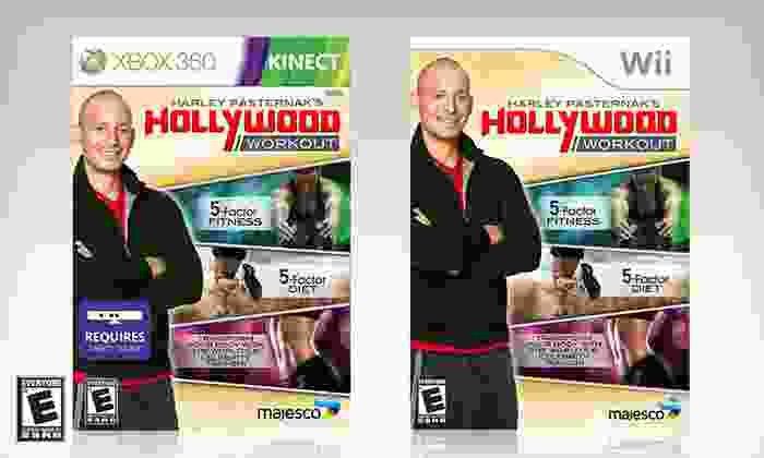 Harley Pasternak's Hollywood Workout: $19 for Harley Pasternak's Hollywood Workout for Kinect or Wii ($29.99 List Price). Free Shipping and Free Returns.