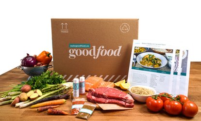 3- or 4-Meal Ingredient Box for Two or Four, Delivered to Your Home by Goodfood (Up to 54% Off)