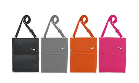 Bolsa de viaje para documentos disponible en 4 colores