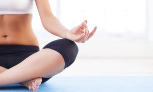 Balans Studio: 5 or 10 Yoga or Barre Classes at Balans Studio (Up to 76% Off)