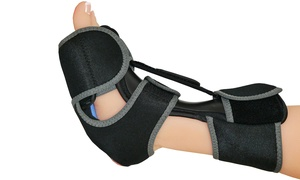 NatraCure Plantar Fasciitis Night Splint with Gel Cold Pack