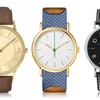 Men's Leather Strap Fashion Watches