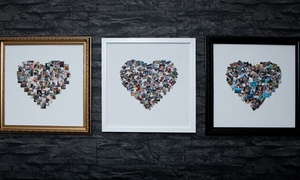 "MeZoo: Framed Collage Print from Mezoo (10""x10"" or 15""x15"") (Up to 95% Off)"