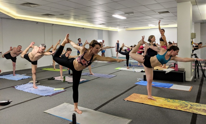 49 For One Month Yoga Pass At Bikram Yoga Canberra Up To 180 Value