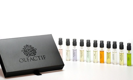 Fragrance Delivery from Olfactif (Up to 50% Off). Two Options Available.