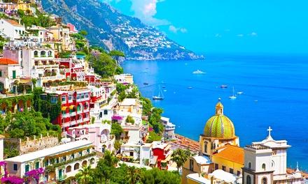 ✈ Italië, Amalfi: 4 of 7 nachten op 4* Oleandri Resort Paestum met ontbijt, huurauto en vlucht vanaf AMS of EIN