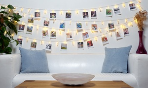 Guirlande LED pinces pour photos