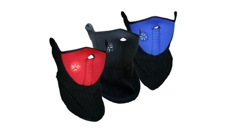 Máscara de protección anti-frío