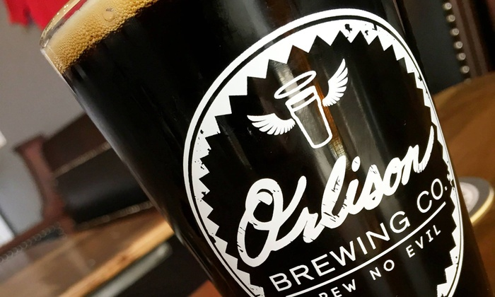 Orlison Brewing Co. Tavern - Orlison Brewing Co. Tavern: Pint, Growler, or Four-Person Drinks Package at Orlison Brewing Co. Tavern (Up to 45% Off)
